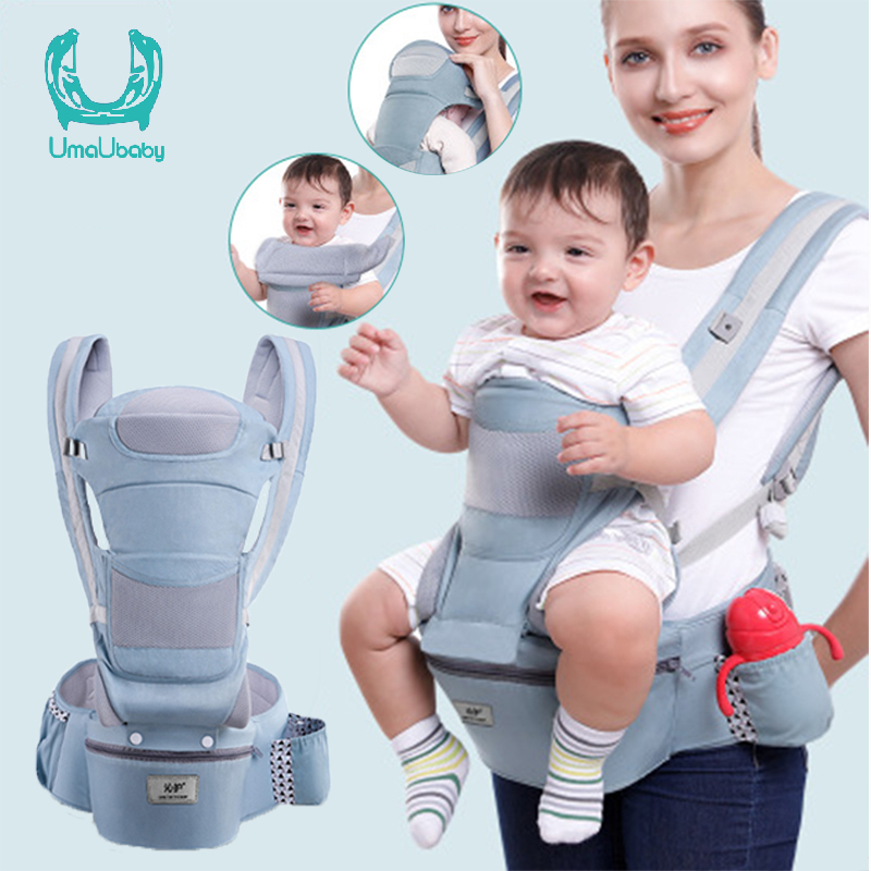 Umaubaby 0~36 baby carrier Infant Ergonomic Carrier Front Facing Kangaroo Sling For Newborns Baby Wrap Sling for Baby Trave
