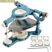 1 Pieces Dental Laboratory Equipment Big Size Silvery Alloy Articulators Adjustable Denture Magnetic Anatomic Articulator