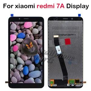 Image 1 - ЖК дисплей 5,45 для Xiaomi Redmi 7A, ЖК дисплей + дигитайзер сенсорного экрана в сборе, запасные части для ремонта ЖК дисплея Redmi 7A