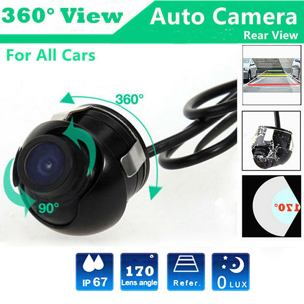 Rearview Camera 360 Degree Car Rear View Camera Panoramic Parking Reverse Camera Waterproof IP67 Car Accessories 12V