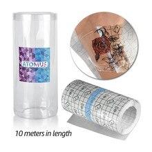 10M Del Tatuaggio Forniture di Accessori di Protezione Traspirante Tattoo Pellicola Dopo La Cura Del Tatuaggio Fasciatura Soluzione Per Flm Tatuaggi di Protezione