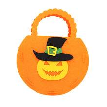 1PC Halloween Decoration Props Portable Toy Bag Dress Up Accessories Supplies Childrens Pumpkin Gift Candy Party