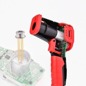 Image 3 - Habotest HT650C Temperatuur vochtigheidsmeter Hygrometer Digitale Termometer Infrarood Laser Thermometer Weerstation