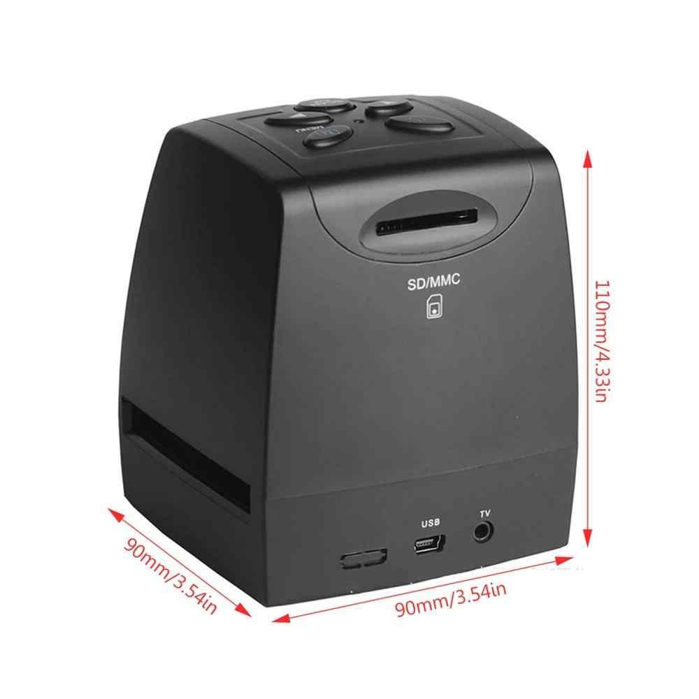 Portable Multifungsi Film Scanner Galin Film Scanner Slide Scanner Warna dan Hitam dan Putih Slide