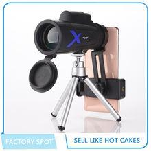 Лидер продаж бинокли 12x50 Монокуляры hd для мобильного телефона