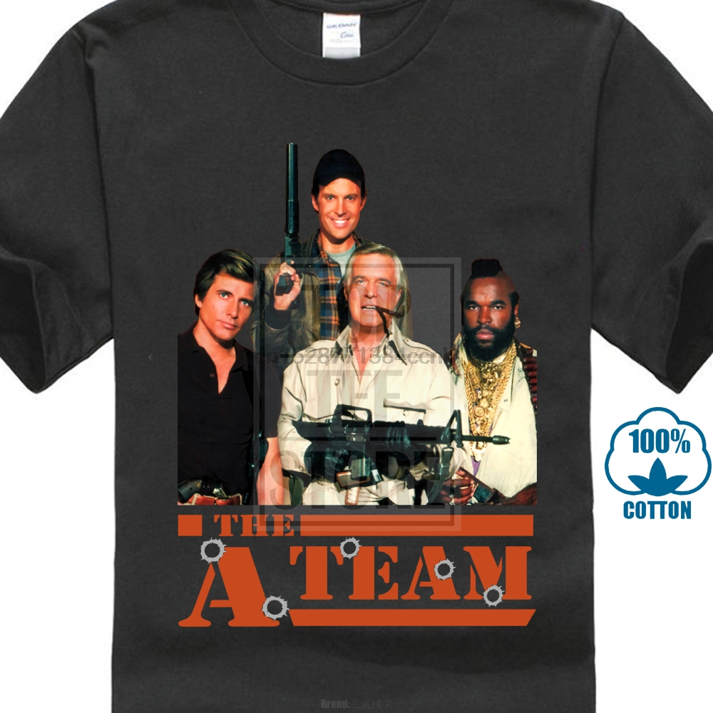 George Peppard T SHIRT all sizes S to 5XL Movie poster THE A-TEAM Car