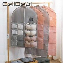 Bag Underwear-Rack Storage-Bag Organizer Wardrobe Hang-Pocket Foldable Bra Non-Woven