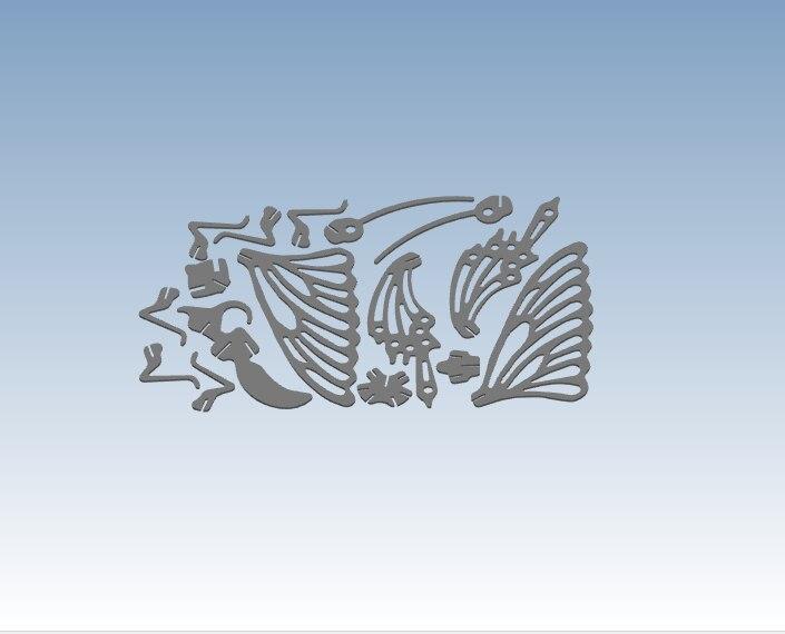 Prototypage rapide de service d'impression 3D papillon Simple selon votre fichier de conception ST118 - 4