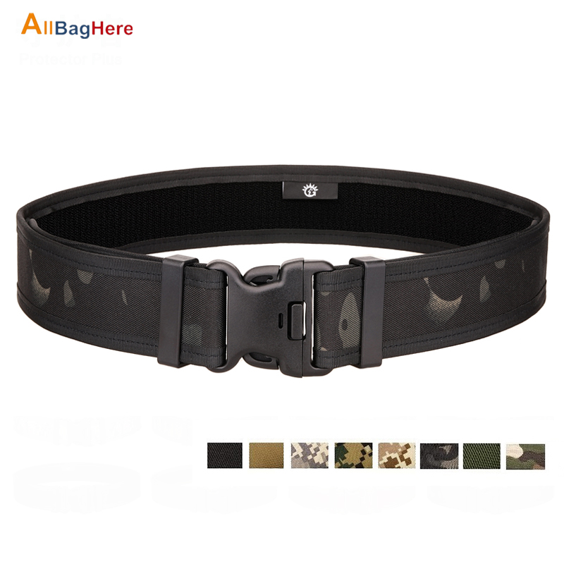 Hot Tactical Army Fan Belts Camping Riding Hiking Outdoor Durable CS Extended Fast Hanging Hard Multifunction Double Buckle Belt| |   - title=