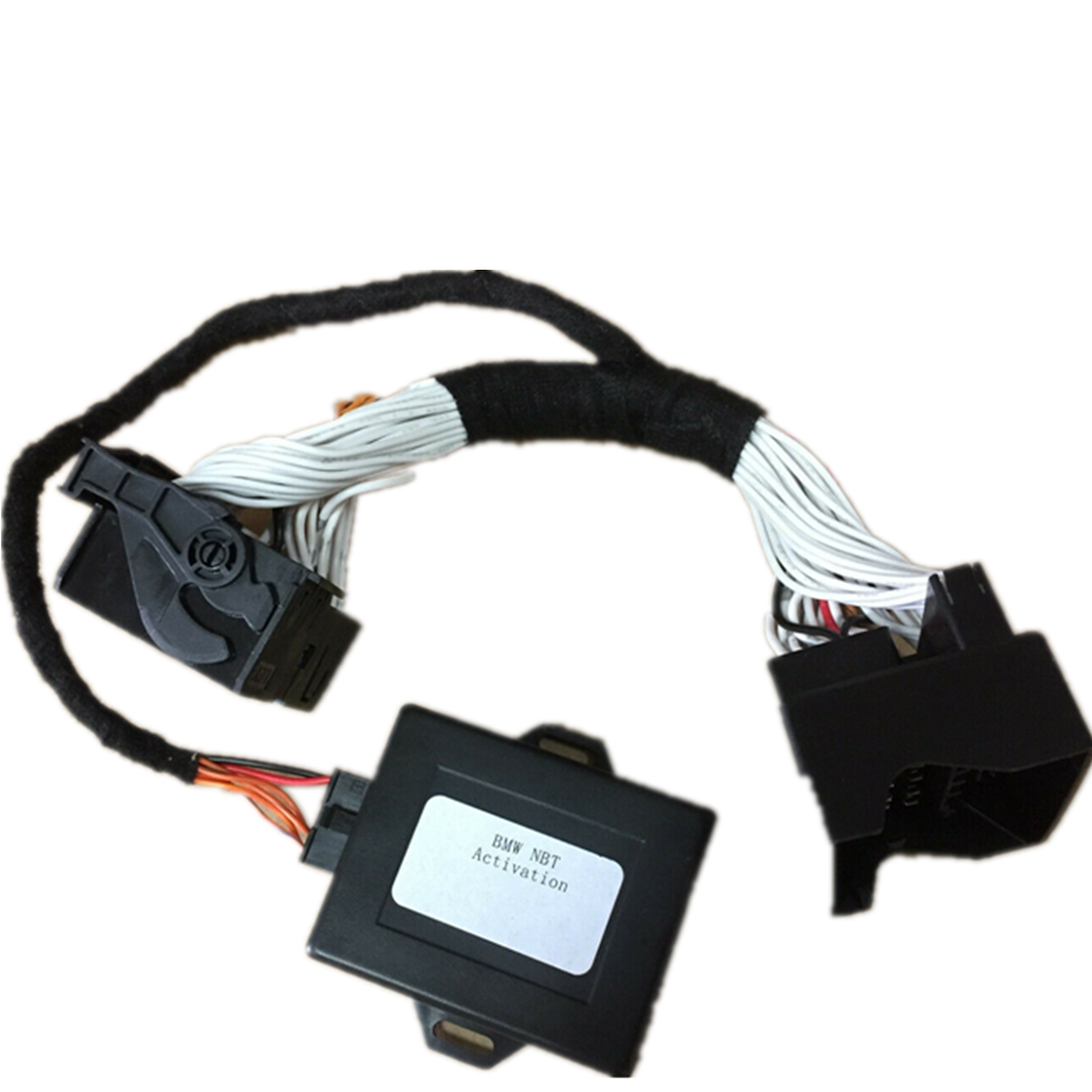 Activate Navi//Video in Montion Retrofit Adapter Emulator For BMW NBT F2x F3x CIC
