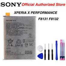 Original Sony F8131 Battery for Sony XPERIA X PERFORMANCE F8131 F8132 LIP1624ERPC 2700mAh(China)