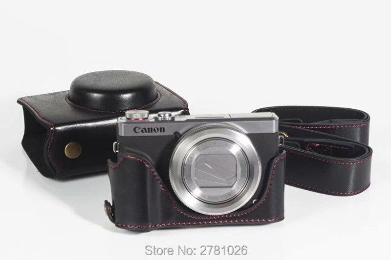 Bolsa de cámara para Canon PowerShot g9 X Mark II estuche foto funda protectora Estuche duro