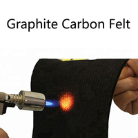 Feltro De Carbono e de Grafite de alta Qualidade Placa de Alta Puro Grafite De Carbono De Fibra De Carbono folha de Feltro 3mm/5mm/ 8mm/10mm|Peças de ferramentas| |  -