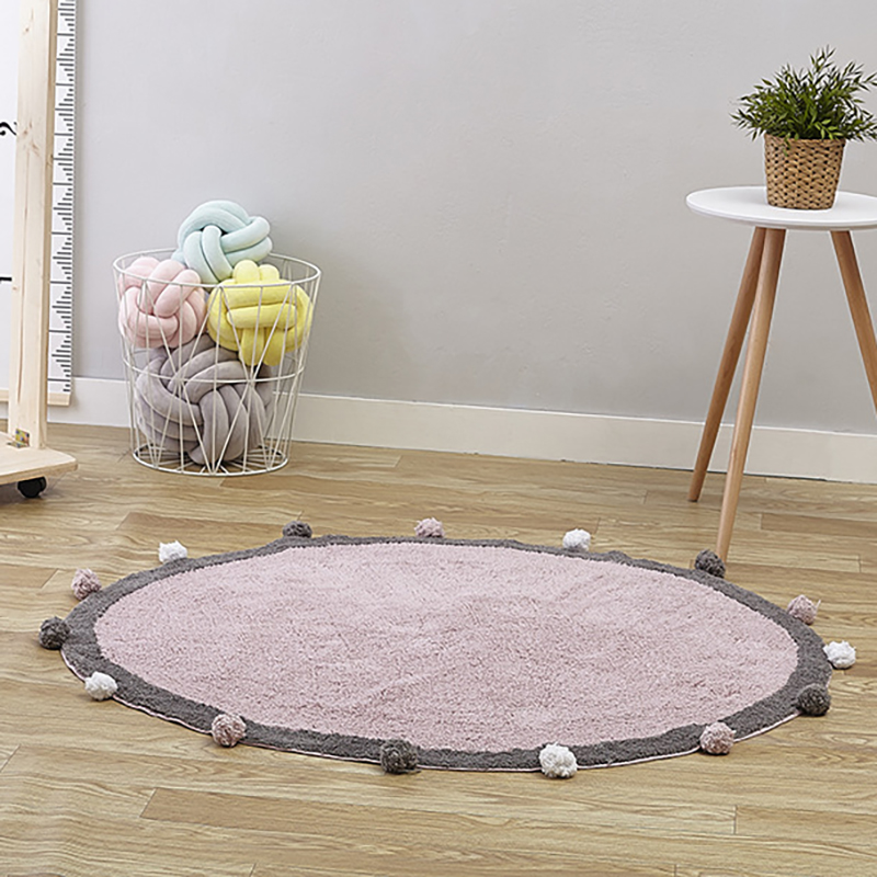 Baby Playmat Developing Velvet Mat Rug Activity Infant Crawling Mat Non-slip Baby Room Decoration YZL011