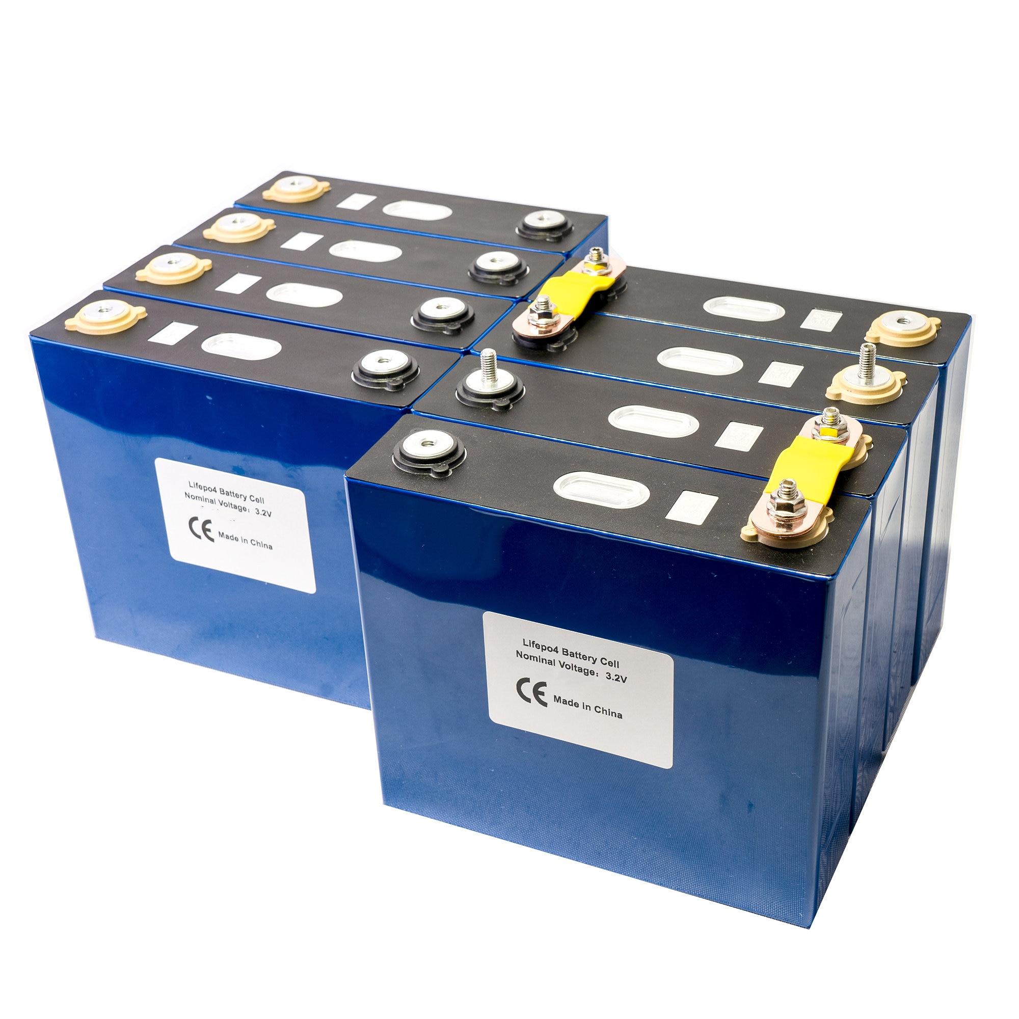 3.2V 120Ah lifepo4 battery GRADE A LFP lithium solar 12V 24V120Ah cells not 100Ah US Local warehouse UPS or FedEx Fast delivery