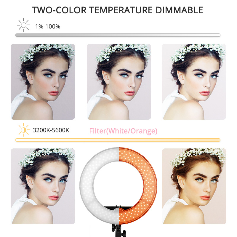 Image 2 - Travor photo studio ring light 14 inch 18 inch LED ringlight 