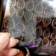 Glue-Sticker Nail-Art 10pcs Adhesive-Tape Manicure-Gel-Sttx889 Acrylic False Fake Double-Sided