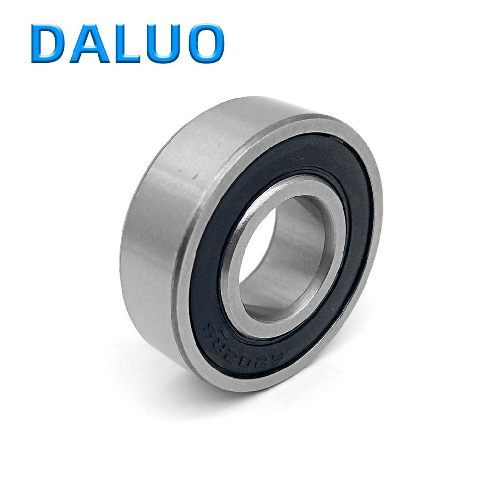 1PCS 6202-2RS 15X35X11 6202RS 6202 ABEC-3 P6 DALUO Single Row Deep Groove Ball Bearing Sealed Bearing Metric