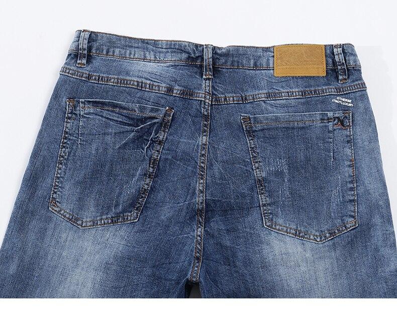 KSTUN Fashion Biker Jeans Men New Design Ultrathin destroyed Man Rip Jean Slim Fit Hiphop Stretch Blue Casual Denim Pants High Quality 14