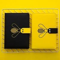 2020 Agenda Planner Organizer B6 Diary Monthly Notebook and Journal Cute Bee Weekly Grid Note Book Travel School Handbook|Notebooks| |  -