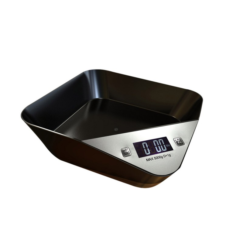 Pet Support Drop Shipping smart food bowl no tray can measure weight for dogs cat multi-function digital scale pet feeder image