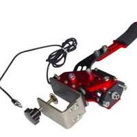 For PS4 USB Handbrake Racing Games for Clamp Log itech G295/G27/G29/G920 T300RS Brake System Handbrake with Fixture Replacement