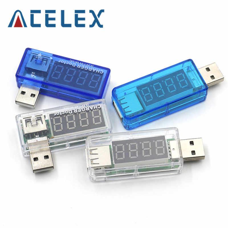 Kỹ Thuật Số Di Động USB Công Suất Dòng Sạc Bút Thử Điện Áp Đo Mini USB Sạc Bác Sĩ Khuếch Biến Trong Suốt