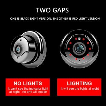 цена на V380 Mini Wifi Camera Night Vision Motion Detection IP Camera Wireless CCTV Infrared 2-Way Audio Home Security Camcorders