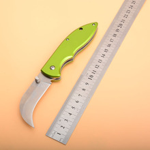 цена New Arrival Tactical VG-10 blade aluminum Alloy handle folding pocket knife outdoor camping hunting survival knives EDC tools онлайн в 2017 году