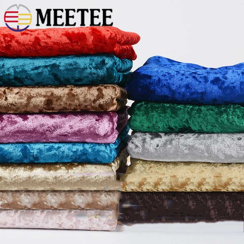 Meetee 50 100x160cm Thicken Velvet Cloth Fabric Ice Velvet Curtain Background Tablecloth Clothing Wedding Craft Decorative AP635 in Fabric from Home Garden