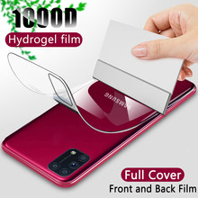 Protecteur d'écran écran protecteurs Pour Samsung Galaxy A50 A10 A20 A20E A70 A51 A71 S10 S8 S9 S20 fe Plus Note 20 Ultra 10 Lite Retour Hydrogel Film