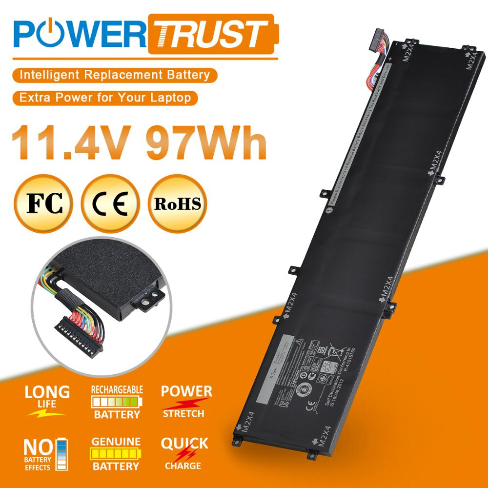 11.4V 97WH 6GTPY Laptop Battery For Dell 5510 XPS 15 9550 9560 6GTPY 5XJ28 Precision 5510 5520 M5510 M5520 Series image