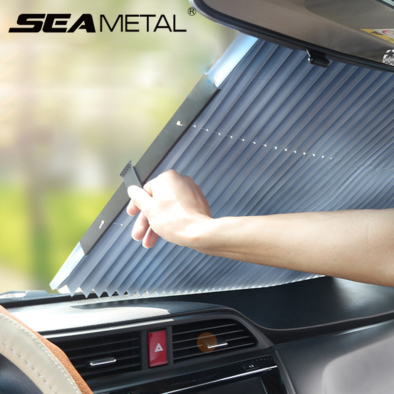 Car Sun Shade Car covers Sunshades Automobiles Dashboard Window Covers Auto Windscreen Cover Interior UV Protector AccessoriesWindshield Sunshades   -