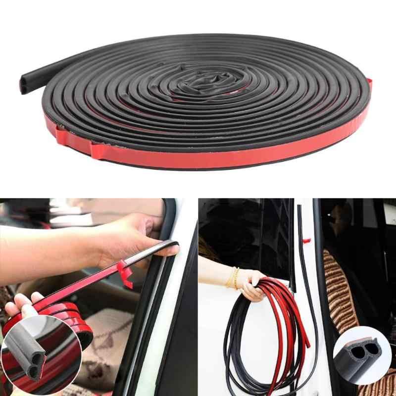 5m B kształt uszczelka do drzwi samochodowych taśma uszczelniająca izolacja akustyczna gumowa uszczelka zwiększa szczelność samochodu kompaktowy