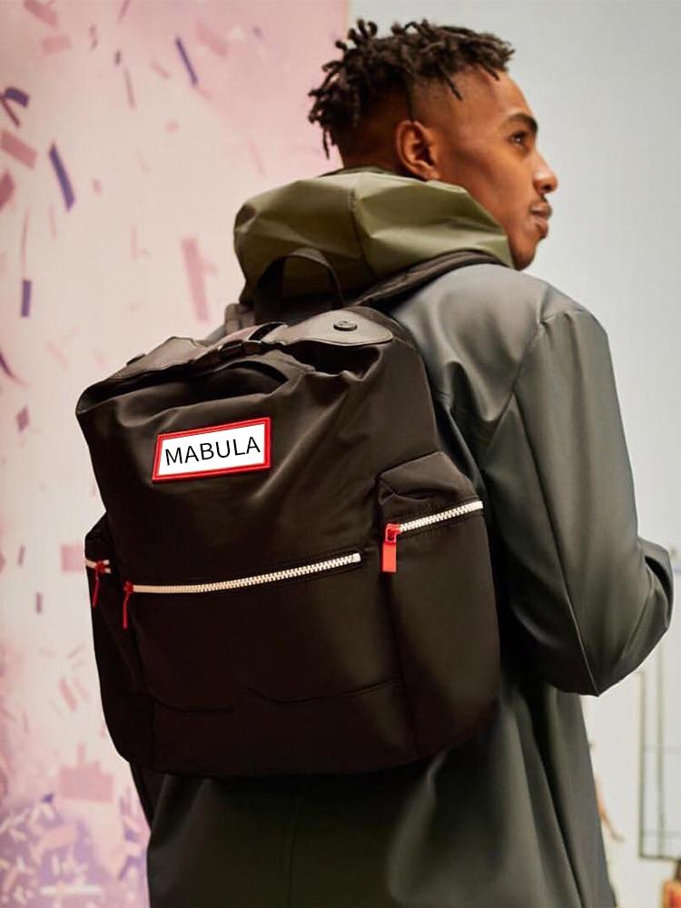 Laptop Backpack Parachute-Clip Travel Nylon Large Water-Resistant Casual Original Unisex