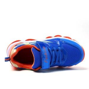 Image 3 - ילדי נעלי ריצה לבנים נעלי ספורט חיצוני מאמני אביב סתיו ילדי נעליים לנשימה רשת נעלי ספורט Tenis Infantil