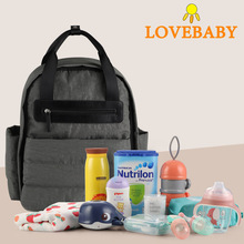 купить Baby Diaper Bag Travel Backpack Waterproof Maternity Mommy Stroller Bag Nappy Changing Baby Care Organizer Wetbag по цене 1195.81 рублей