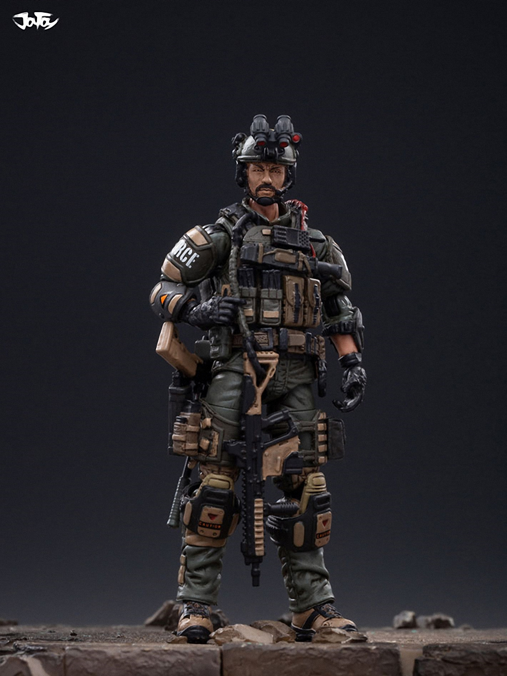 Joy Toy 1//18 USAC Army Airborne Commando Special Forces Action Figure Set of 5