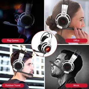 Image 5 - Somic g941 gamer fones de ouvido usb 7.1 surround virtual som gaming headset fones com microfone estéreo vibração graves para pc
