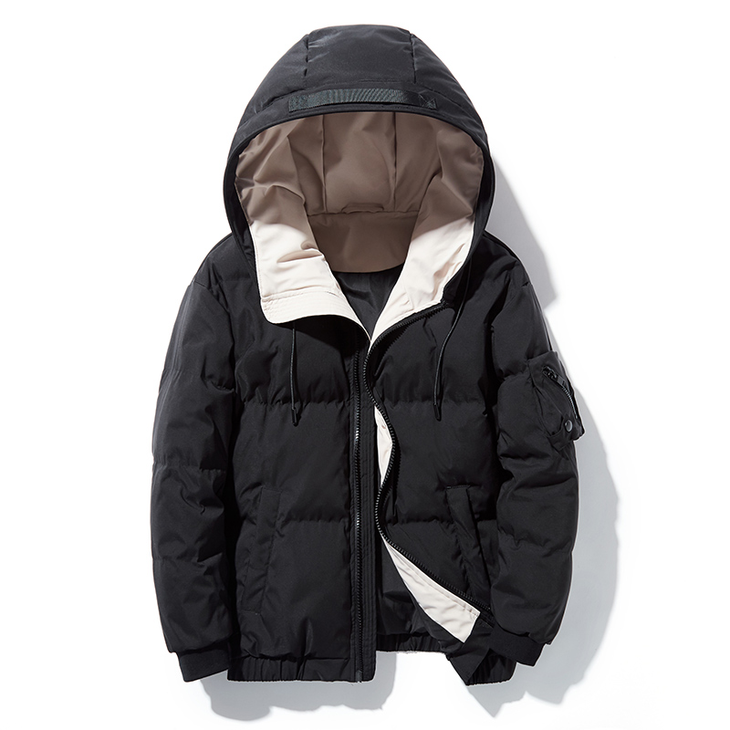 2019 Winter New Men's Casual Wear Korean Short Fashion Handsome Coat