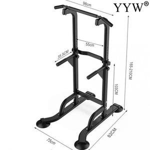 Image 5 - Multifunctional Indoor Fitness Equipment Horizontal Bar Single/Parallel Bar Pull Up Trainer Body Buliding Arm Back Exercise