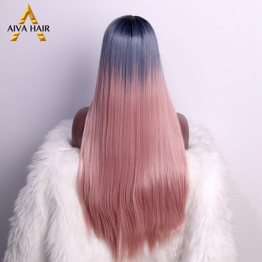 raiz azul peruca glueless cosplay perucas para preto