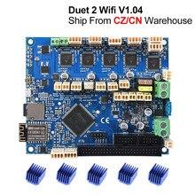 Cloned Duet 2 Wifi V1.04 Upgrade 32bit Control Board Duet2 Wifi 32 bit Motherboard For CNC Machine ender 3 pro 3D Printer Parts