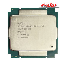 Intel xeon E5-2697 v3 e5 2697 v3 e5 2697v3 2.6 ghz quatorze núcleos vinte e oito threads 35m 145w processador cpu 22nm lga 2011-3
