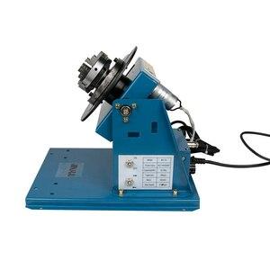 Image 2 - Giratorio de soldadura de 220V por 10 10KG, rotador para tubería o círculo, posicionador de soldadura con K01 65, Cartucho de mini mandril M14