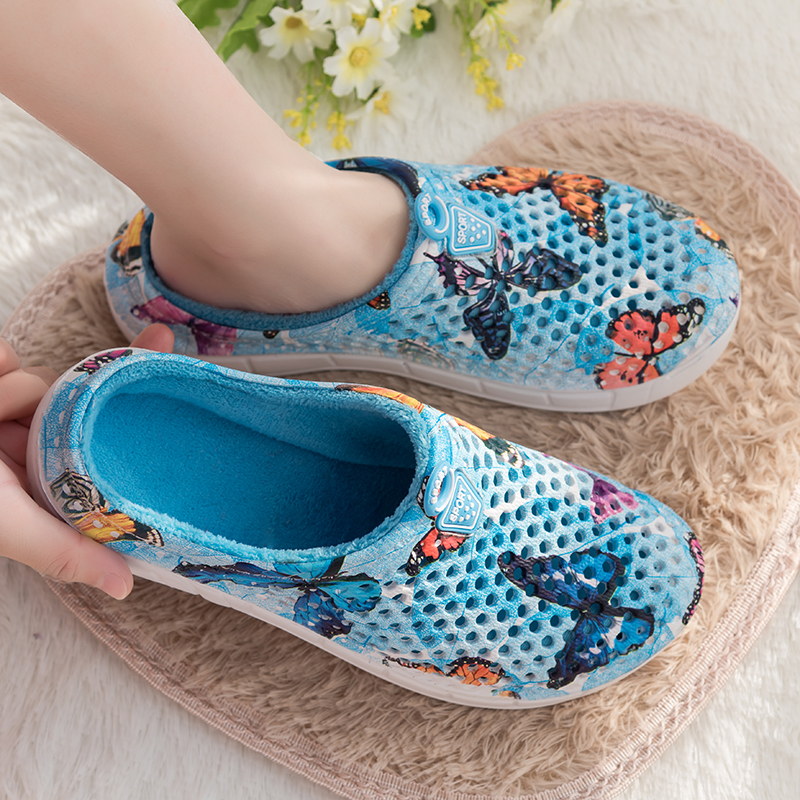 Original Slippers Women Croc Clog Shoes Winter Outdoor Classic Freesail Plush Shearling Lined Sneakers Winter Fur Garden Sandals