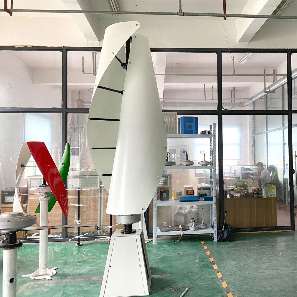 fltxny gerador de ima 1000w 2000w gerador vertical de turbina eolica permanente 3 fase 600w 12v