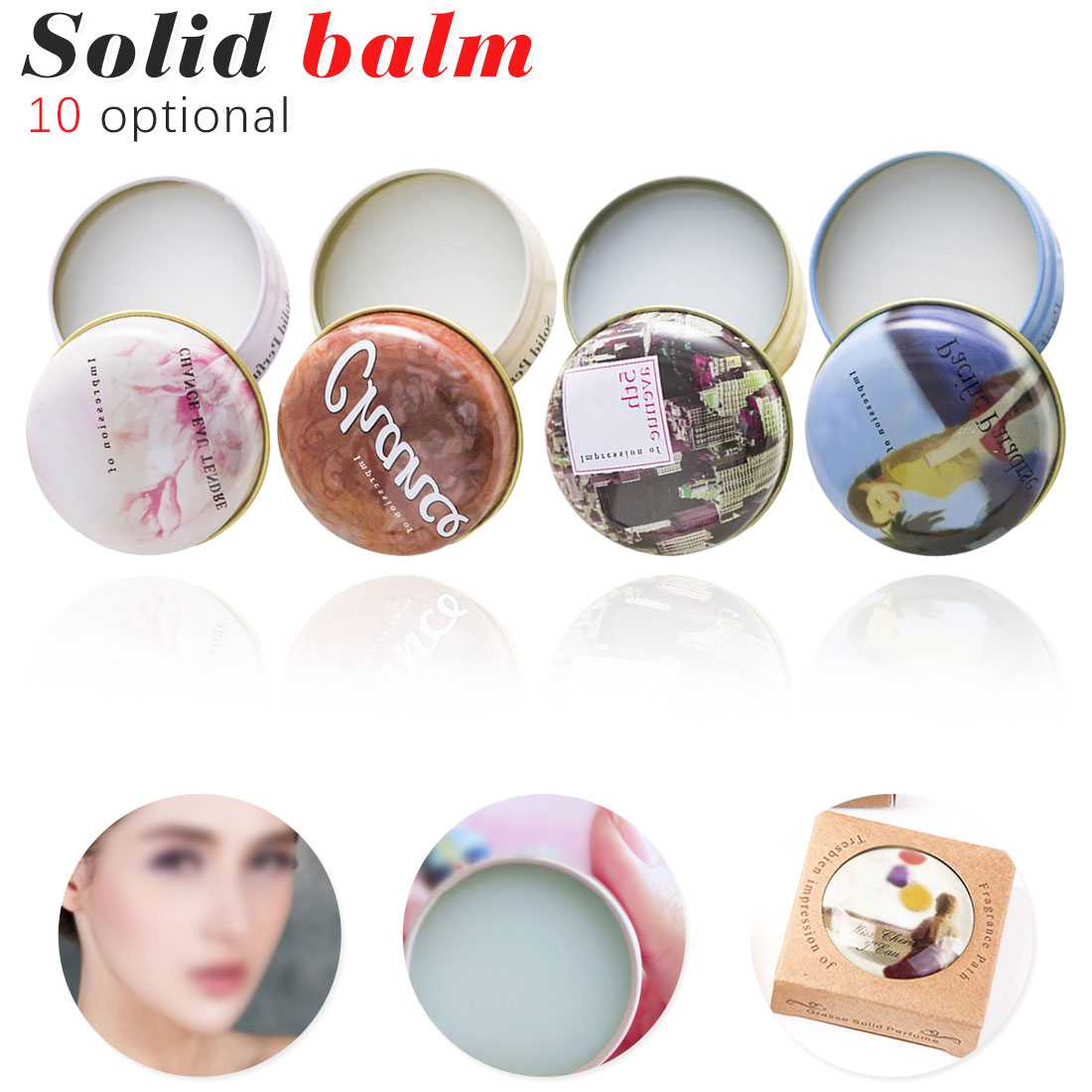 1pcs Magic Solid Perfume For Men Or Women Of Fragrance Alcohol-free Solid Perfumes And Fragrances Deodorant Fragrance