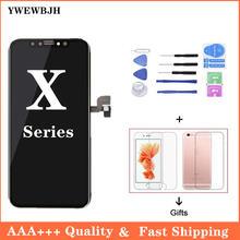 Aaa +++ oled для i phone x xr xs сменный ЖК экран с 3d сенсорным