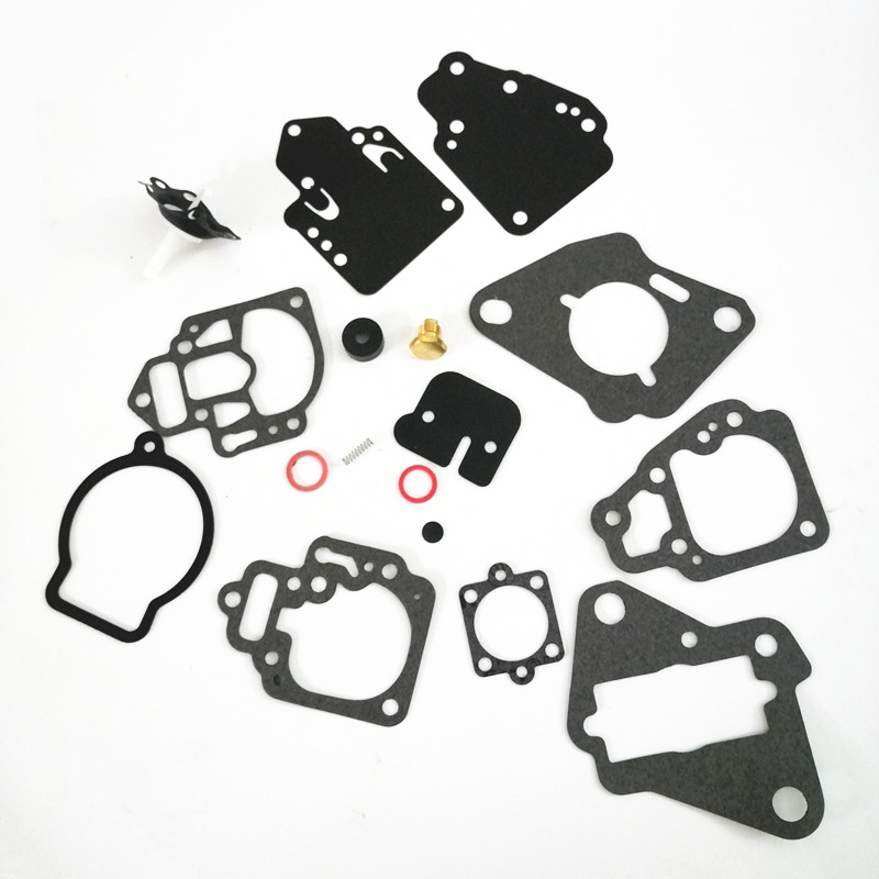 1395-9761-1 Carburetor Gasket and Diaphragm Kit Fit for Mercury Many 6 8 9.9 10 15,20 & 25 HP Replace 1395-9761 1